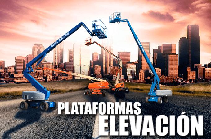 Renta Plataformas de Elevacion en Monterrey