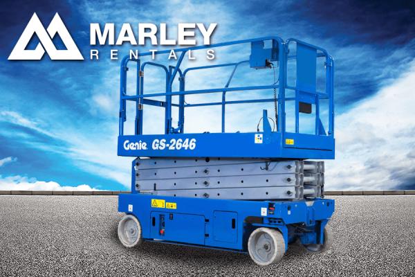 Renta Plataforma de Elevación Genie GS2646